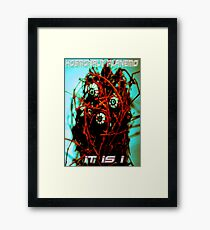 Videogame Monster Framed Print
