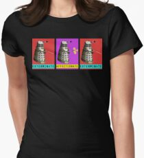 Affectionate Dalek Womens Fitted T-Shirt