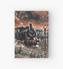 Full Steam - The Vintage Train Hardcover Journal