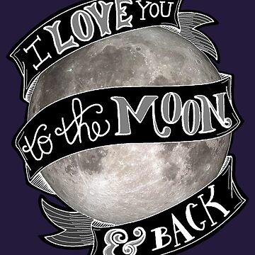 Moon & Back by lyndseyahughes