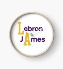 Lebron James LA Clock