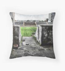 Lviv stadium Throw Pillow