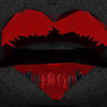 Red Rum Lips by WildUnit