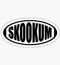 SKOOKUM Sticker