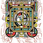 Switchplate - Surreal Geometric Abstract Expressionism by Ryan Livingston
