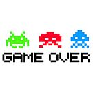 Space Invaders Game Over by 454autoart