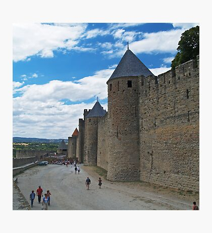 City Wall, Carcassonne Photographic Print