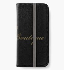 LUXURY BOUTIQUE iPhone Wallet/Case/Skin
