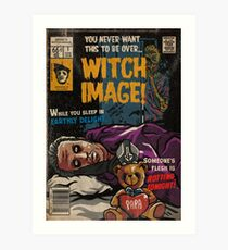 Witch Image - Ghost Comic Series Art Print