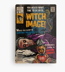 Witch Image - Ghost Comic Series Metal Print