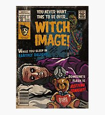 Witch Image - Ghost Comic Series Photographic Print