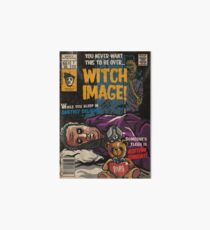 Witch Image - Ghost Comic Series Art Board