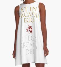 I Tego Arcana Dei A-Line Dress