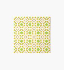 floral islamic mandala seamless colorful repeat pattern Art Board