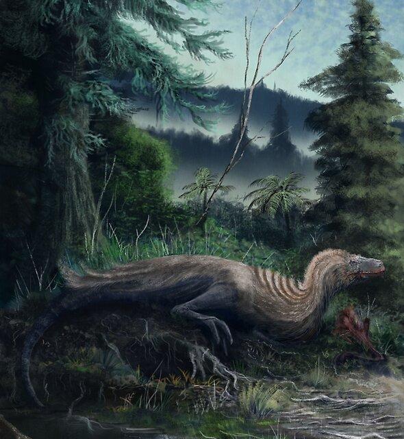 Eotyrannus by Mark Witton