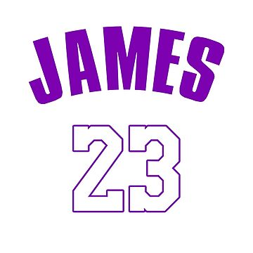 Lebron James Lakers Jersey by ClutchDizzy