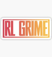 RL GRIME LOGO MERCH Sticker