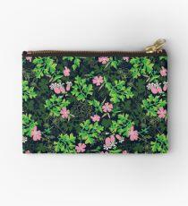 Forest Wildflowers / Dark Background Studio Pouch