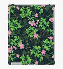 Forest Wildflowers / Dark Background iPad Case/Skin