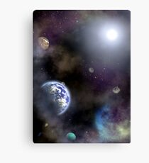 Among other planets... Canvas Print