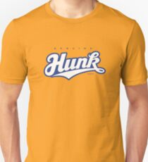GenuineTee - Hunk (white/blue) T-Shirt