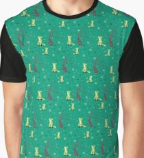 Forest Foxes Graphic T-Shirt