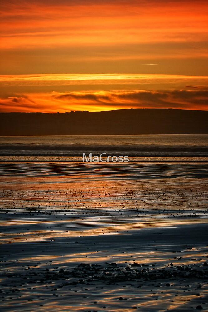 Dunnet Beach Sunset, Caithness, Scotland by Martina Cross