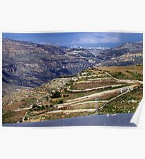 Landscape in Jordan Poster