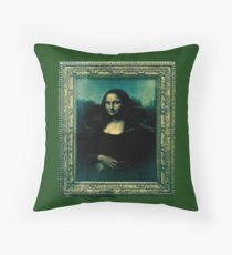 Mona Lisa (Leonardo da Vinci) Throw Pillow