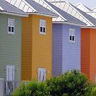 colorful houses by Sheila McCrea
