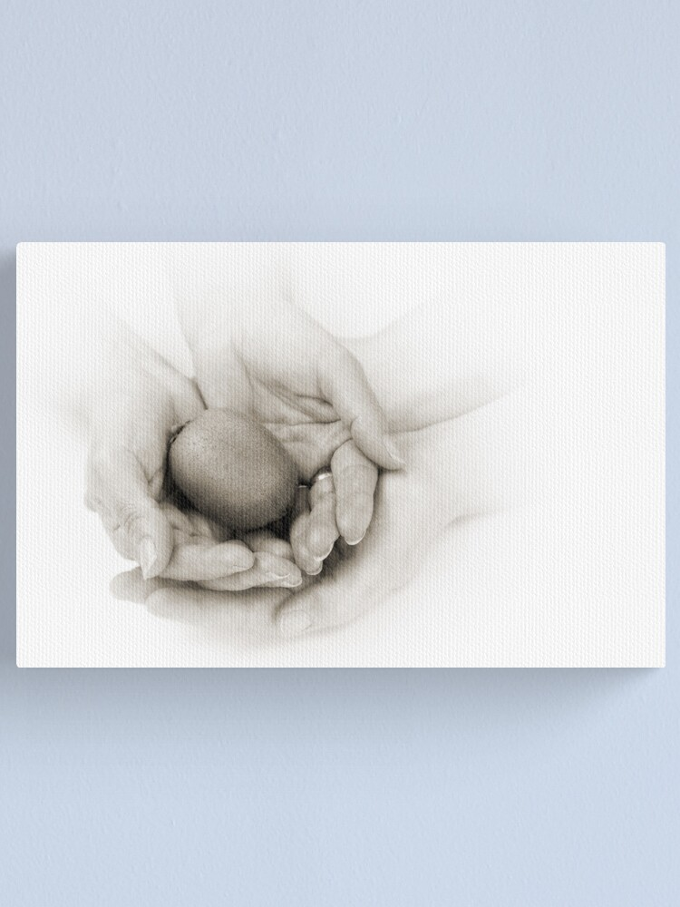 Alternate view of Hands: Health Canvas Print