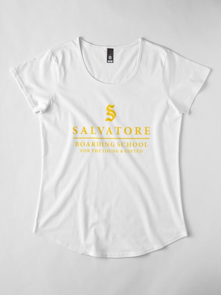 Alternative Ansicht von Salvatore Internat - TVD / Originale / Vermächtnisse Premium Rundhals-Shirt