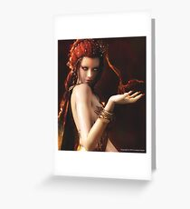 Melisandre (The Red Woman) Greeting Card