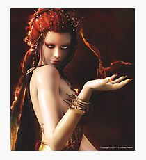 Melisandre (The Red Woman) Photographic Print