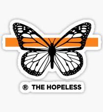 THE HOPELESS BUTTERFLY Sticker