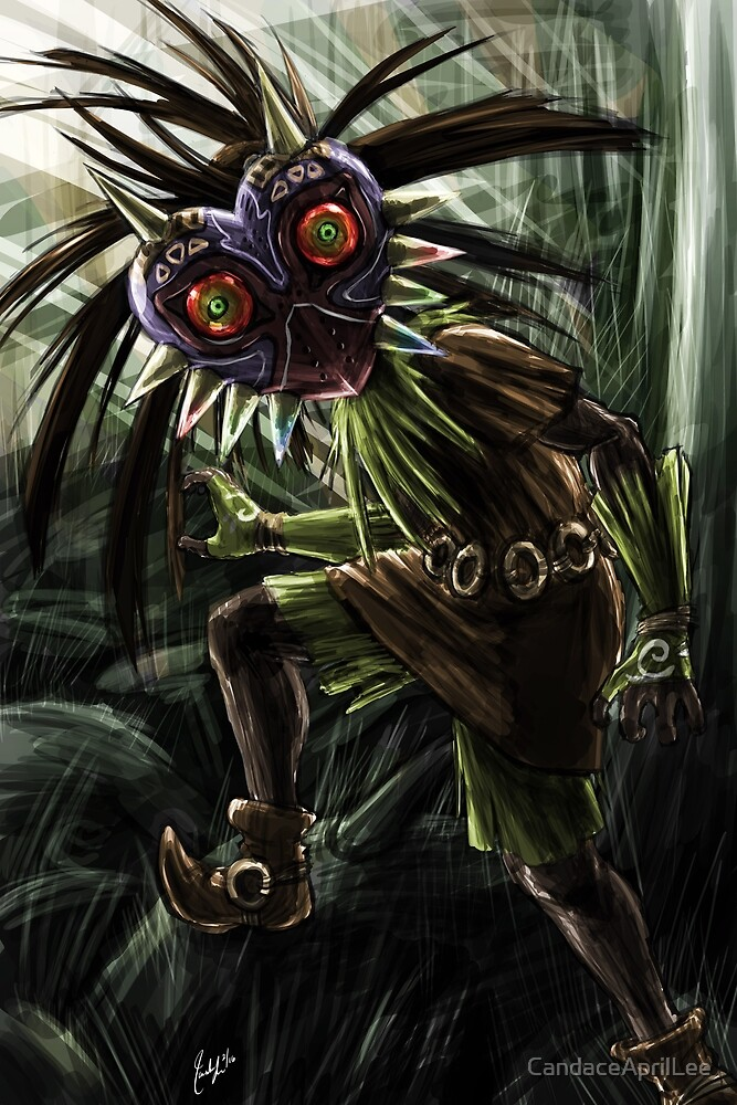 Skull Kid - Encounter by CandaceAprilLee