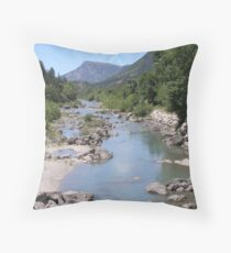 Castellaine Provence France  Throw Pillow