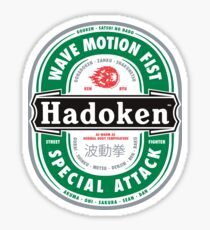 Hadoken Beer Sticker