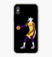 LeBron James, The GOAT iPhone Case