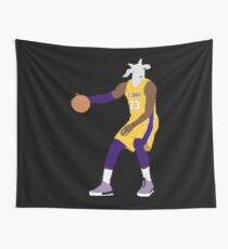 LeBron James, The GOAT Wall Tapestry