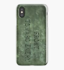 """Front Toward Enemy""  iPhone Case"