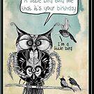 Bird birthday by Jenny Wood