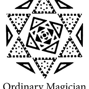 Marisa Kirisame's Sigil (Ordinary Magician, Full, Black) - Touhou Project by Sukima