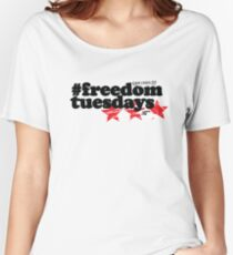 #freedomtuesdays Women's Relaxed Fit T-Shirt