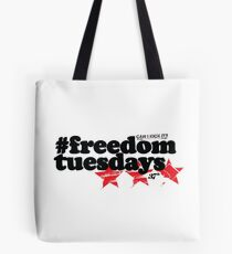 #freedomtuesdays Tote Bag