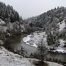 South Fork Eel River, Mendocino County, California by Mike Kunes