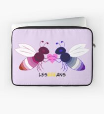 Lesbeeans FemmexButch bee (by request) Laptop Sleeve