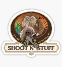 Miles' Shoot & Stuff Sticker
