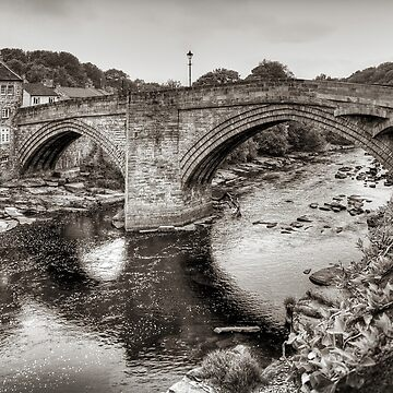 County Bridge B&W by tomg