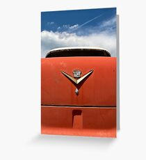 Vintage Cadillac  Greeting Card